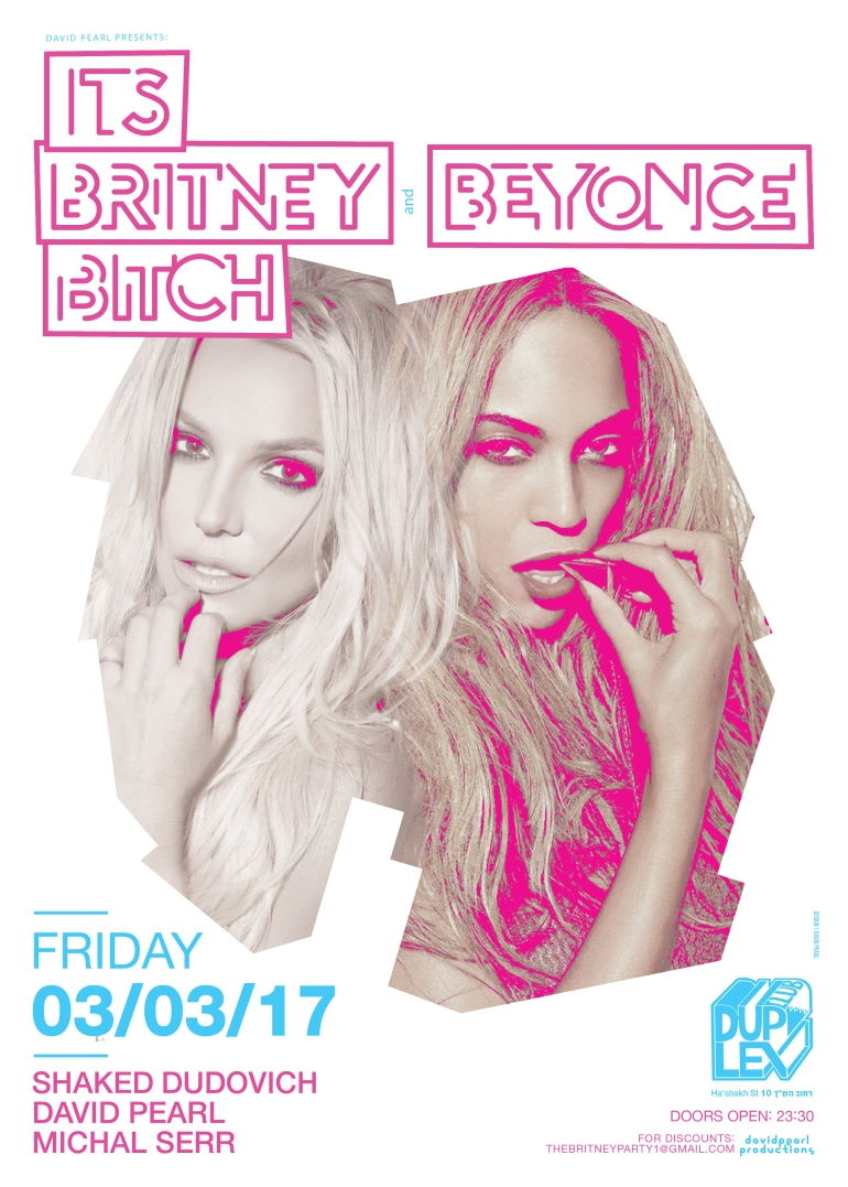 BRITNEY BEYONCE POSTER 03.03a