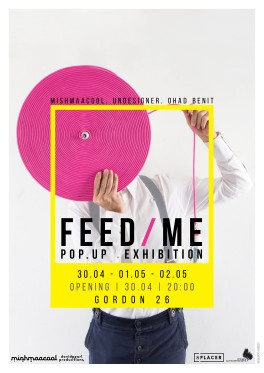 FEED ME poster