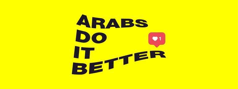 ARABS LIKE BANNER