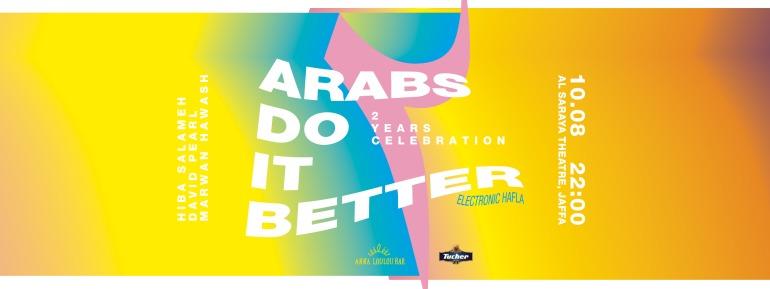 Arabs Do It Better 10.08.18 BannerA