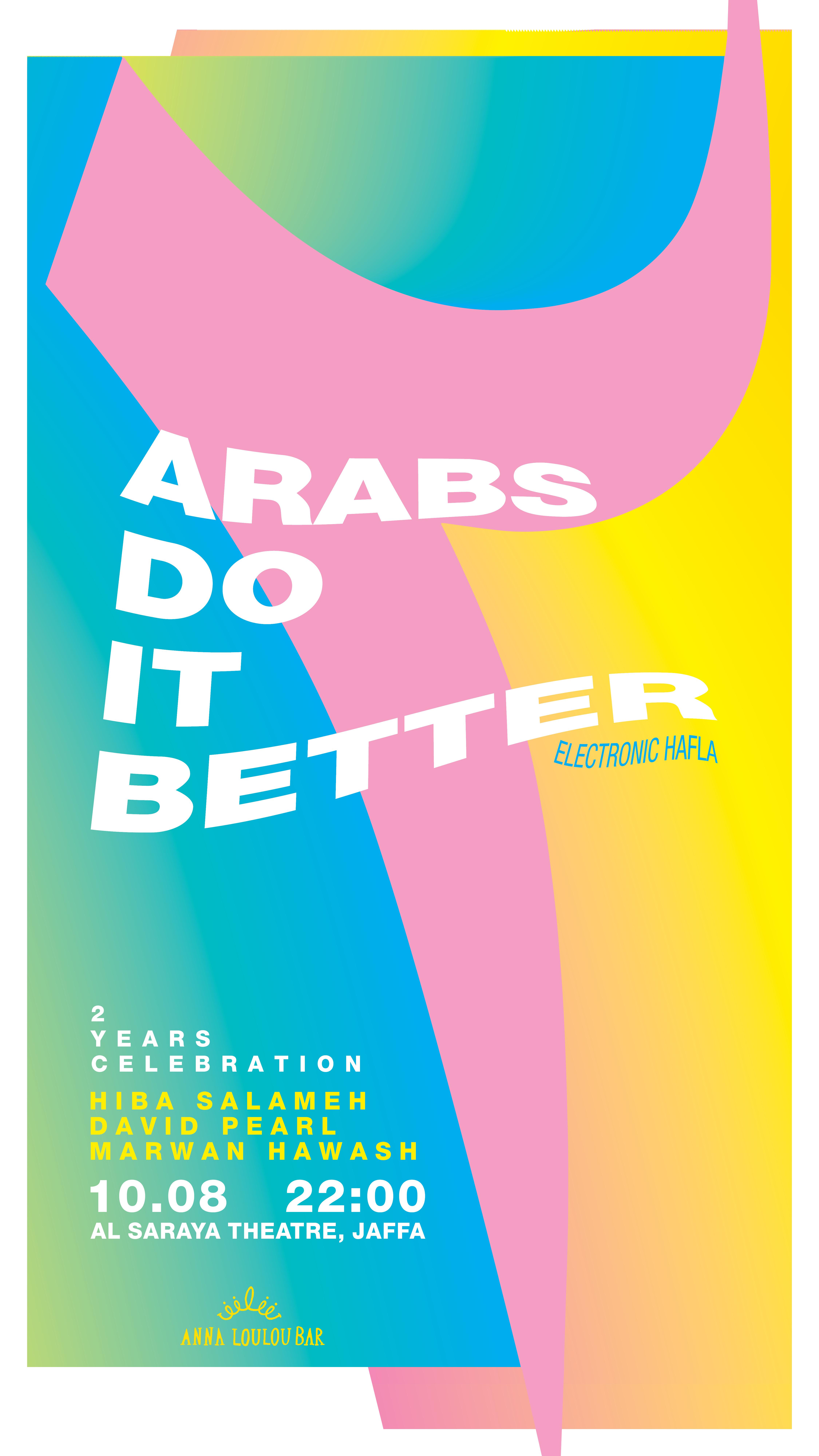 Arabs Do It Better 10.08.18 Story