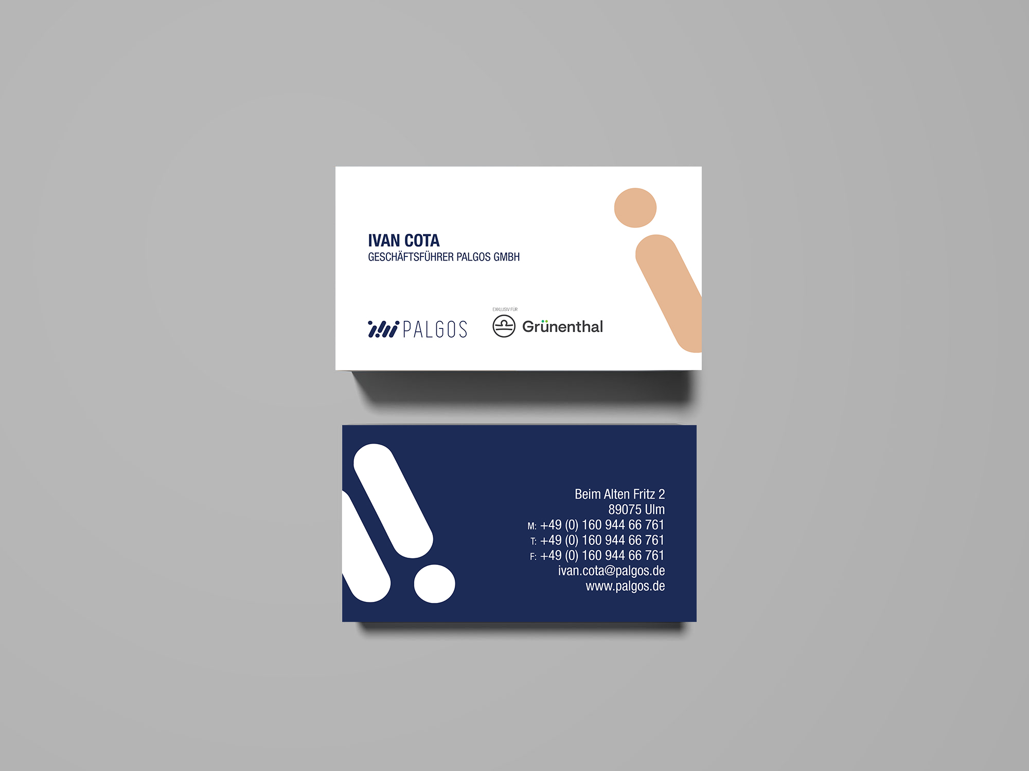 Palgos buisness card